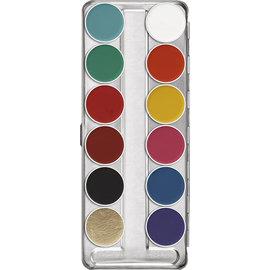 Kryolan Aquacolor schmink en paletten