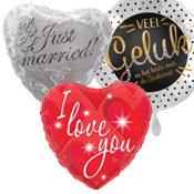 Valentijn en liefde ballonnen