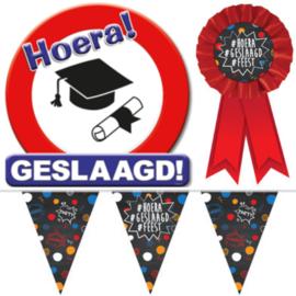 Geslaagd en diploma