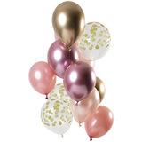 Ballonnen set Golden Blush
