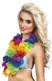 Bloemenkrans Vrouw XL regenboog