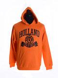 Hooded sweatshirt oranje_