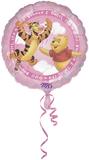 Folie ballon roze winnie the pooh