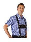 Oktoberfest heren pakket deluxe: lederhosen, trachtenhemd en kousen_