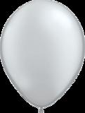 Qualatex zilveren ballonnen