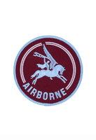 Airborne Pegasus patch geborduurd rond 10 cm