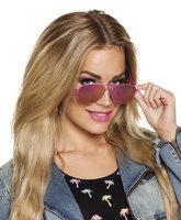 Pilotenbril olieglazen roze
