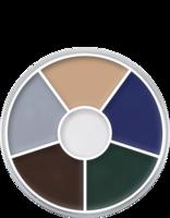 Kryolan cream color circle 6 kleuren: zombie