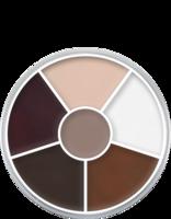 Kryolan cream color circle 6 kleuren: old age