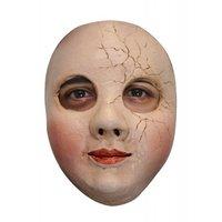 Gezichtsmasker rubber Broken Doll