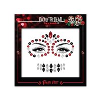 Face en body jewels (gezicht steentjes) Day of the Dead