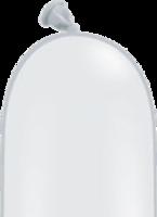 Qualatex modelleer ballonnen wit 50 stuks 260Q
