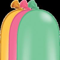 Qualatex modelleer ballonnen Vibrant 100 stuks 260Q