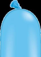 Qualatex modelleer ballonnen lichtblauw 50 stuks 260Q