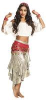 Gypsy set: doek, haarband en armbanden