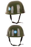 Soldatenhelm, Camouflage met netje