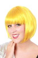 Sensation Bobline, page pruik kort model geel