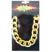 Pooier armband schakel goud