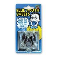 Blauwe mond snoepjes 3 stuks