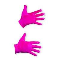Handschoenen roze satijn