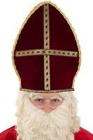 Sinterklaas mijter van stof,  eenvoudige uitvoering