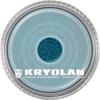 Kryolan polyester glitter 4 gram licht blauw-groen