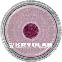 Kryolan polyester glitter 4 gram roze-maroon