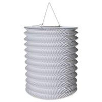 Lampion effen wit 16 cm lengte