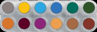 Grimas Water Make-up Pure 12 kleuren B 2,5 ml