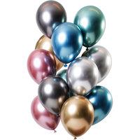 Ballonnen set Mirror Treasures 12 stuks