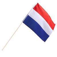 Zwaaivlag Nederland stof 30 x 45 cm