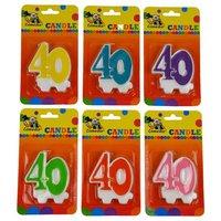 Leeftijdkaarsje '40'