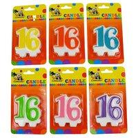 Leeftijdkaarsje '16'