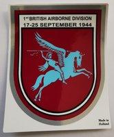 Airborne Sticker met Pegasus