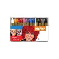 12 Schminkstiften basis kleuren