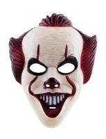 Masker duivelse clown plastic
