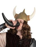 Viking drink hoorn zwart