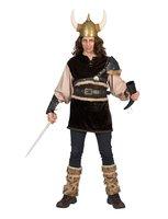 Viking Ragnon kostuum 4-delig