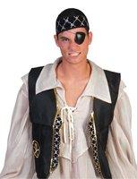 Piraten vest unisex