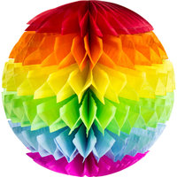 Honeycomb Ball multicolor 30 cm