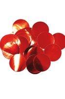 Confetti rood groot 14 gram