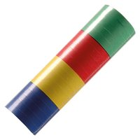 Serpentines gekleurd 4 blokkleuren 1 rol