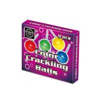Color Crackling Balls 9 stuks