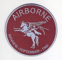Airborne Pegasus patch rond 9 cm