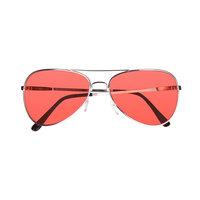 Retro bril rood