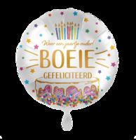 Folieballon Boeie Gefeliciteerd 43 cm