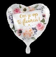 Folieballon Beterschap 'Om je op te fleuren' 43 cm