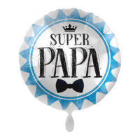 Folieballon Super papa 43 cm