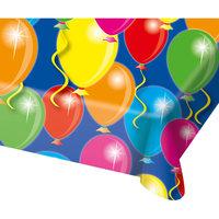 Tafelkleed ballonnen plastic 130x180 cm