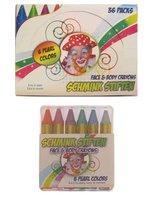 Schminkstiften metallic kleuren